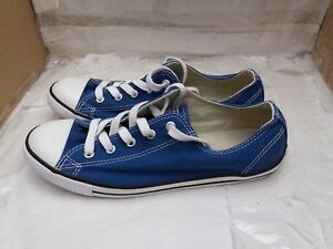 Taylor Blue Converse Uk Low 6 Sneaker Classic Trainer Size Star All Chuck r8anxUwaIq
