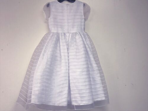 Us Angels NEW Girls Kids FORMAL WEDDING CONFIRMATION DRESS Sz 12 RTL $174 Q759