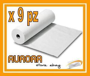 Rotolo Carta Lettino Massaggio.9 Rotolo Carta Lettino Massaggio Estetica Paper Roll Ebay