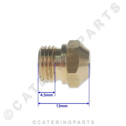 ZANUSSI 059342 Iniettore Bruciatore di gas a vite-in JET 1.00mm orifizio GPL LP NAT Friggitrice