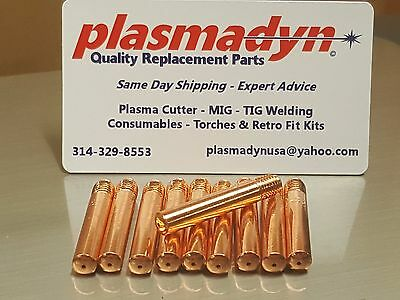 going10pc 1444-0220 FP14-23 MIG Tips for Firepower FP200 FP260 MIG Gun torch