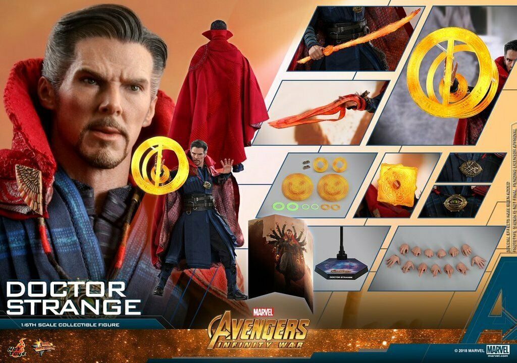 Hot Juguetes Vengadores Infinito Guerra 1 6 Dr Strange figura Juguetes Tacho Usa Marvel