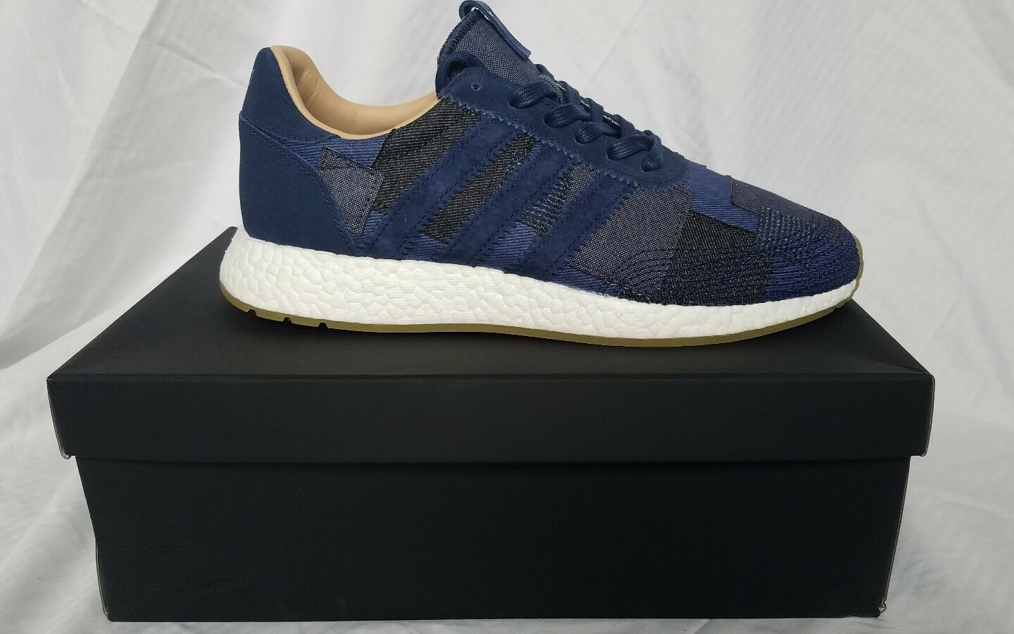 Adidas x End x Bodega Iniki Runner patch bluee Boost Size 9