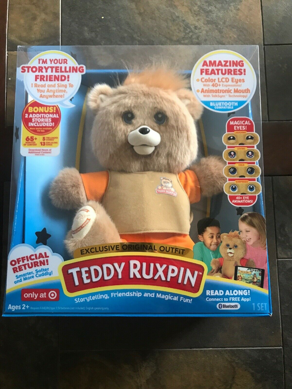 TEDDY RUXPIN THE MAGICAL STORY STORY STORY TELLING BEAR. BRAND NEW  ALL TIME FAVORTIE 42f9c4