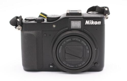 1 of 1 - Nikon COOLPIX P7000 10.1 MP Digital Camera - Black