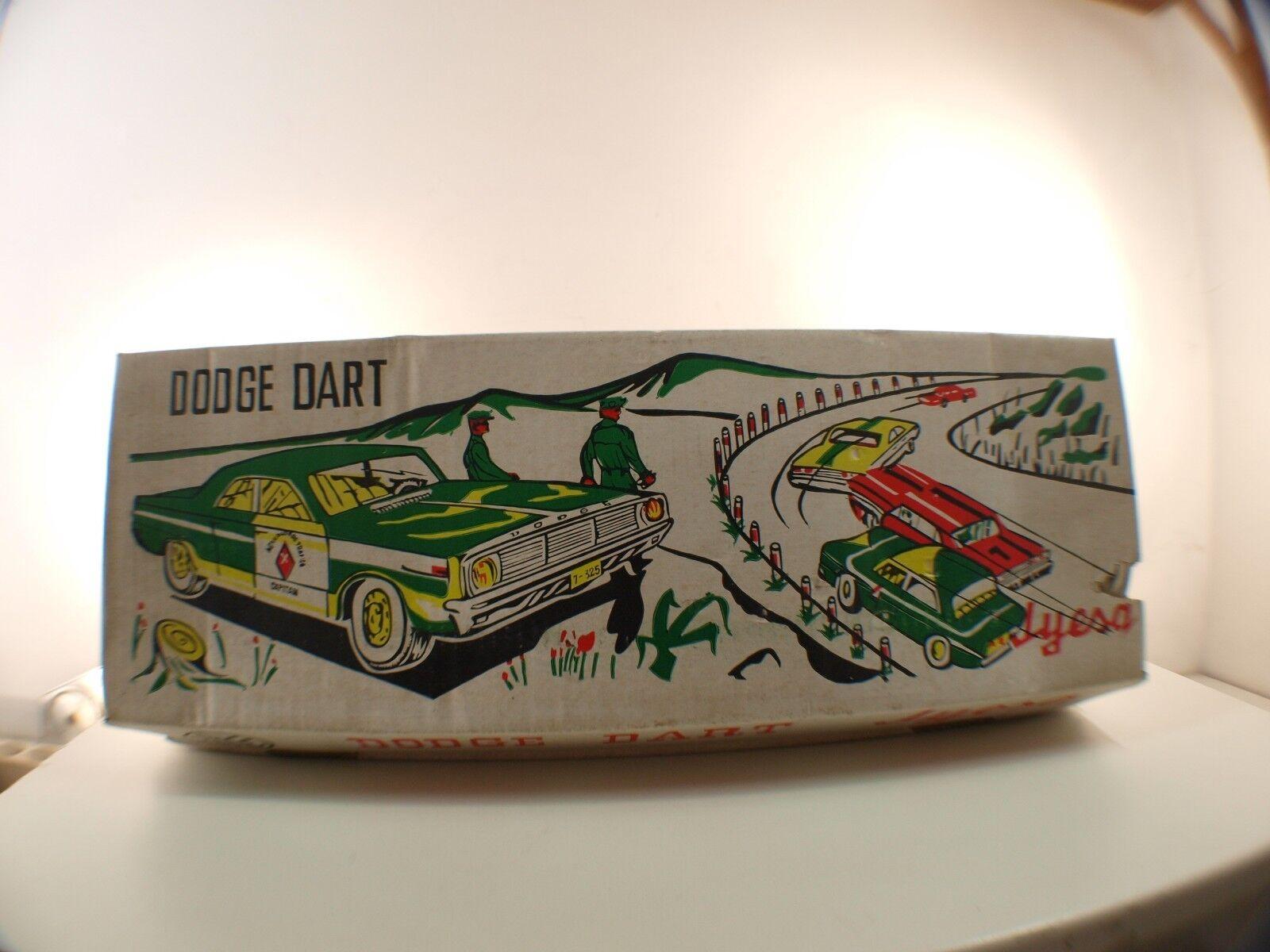 JYESA n 427 • Dodge Dart 'POLICIA AUTOPISTA' téléguidé 43 cm - en boite/boxed