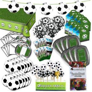 Football-Complet-Fete-Set-pour-8-Clients-XL-85-teilig-Ici-Est-Tout-Drin