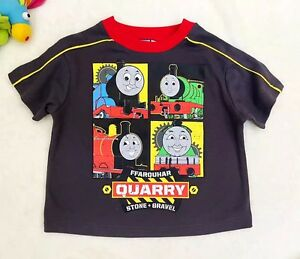 Toddler-Baby-kids-T-shirt-Playsuit-Outfits-Clothing-Thomas-amp-Friends-Top