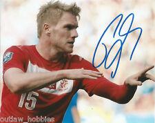 Poland Damien Perquis Autographed Signed 8x10 Photo COA
