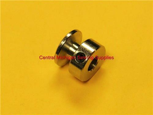 """SEWING MACHINE MOTOR PULLEY STEEL 1//4/"""" HOLE 6.3 MM FITS MANY"""