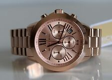 MICHAEL KORS Damen Armbanduhr Uhr Damenuhr Rose Gold MK5778 Runway Chronograph