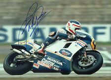 Fast Freddie SPENCER Autograph SIGNED Photo 16x12 HONDA Rider AFTAL COA