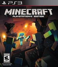 Brand New Sealed Minecraft PS3 for Playstation 3 Edition Sony 2014 Free Shipping