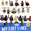 Custom-Star-Wars-mini-figures-minifigures-set-Vader-Anakin-Army-Mando-Yoda thumbnail 1