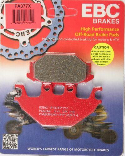 X Series Carbon Brake Pads EBC FA377X