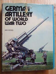 German-Artillery-of-World-War-Two-Ian-V-Hogg-Good-Hardback