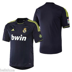 80ec66e1b NWT~Adidas REAL MADRID Spain Futbol Soccer Shirt Football Away ...