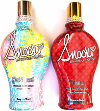 Snooki Hottie Sexy Tingle HOT Bronzer & Get Real Maximizer Tanning Bed Lotion