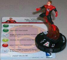 Wave 2 #020a Laira Red Lantern HeroClix War of Light