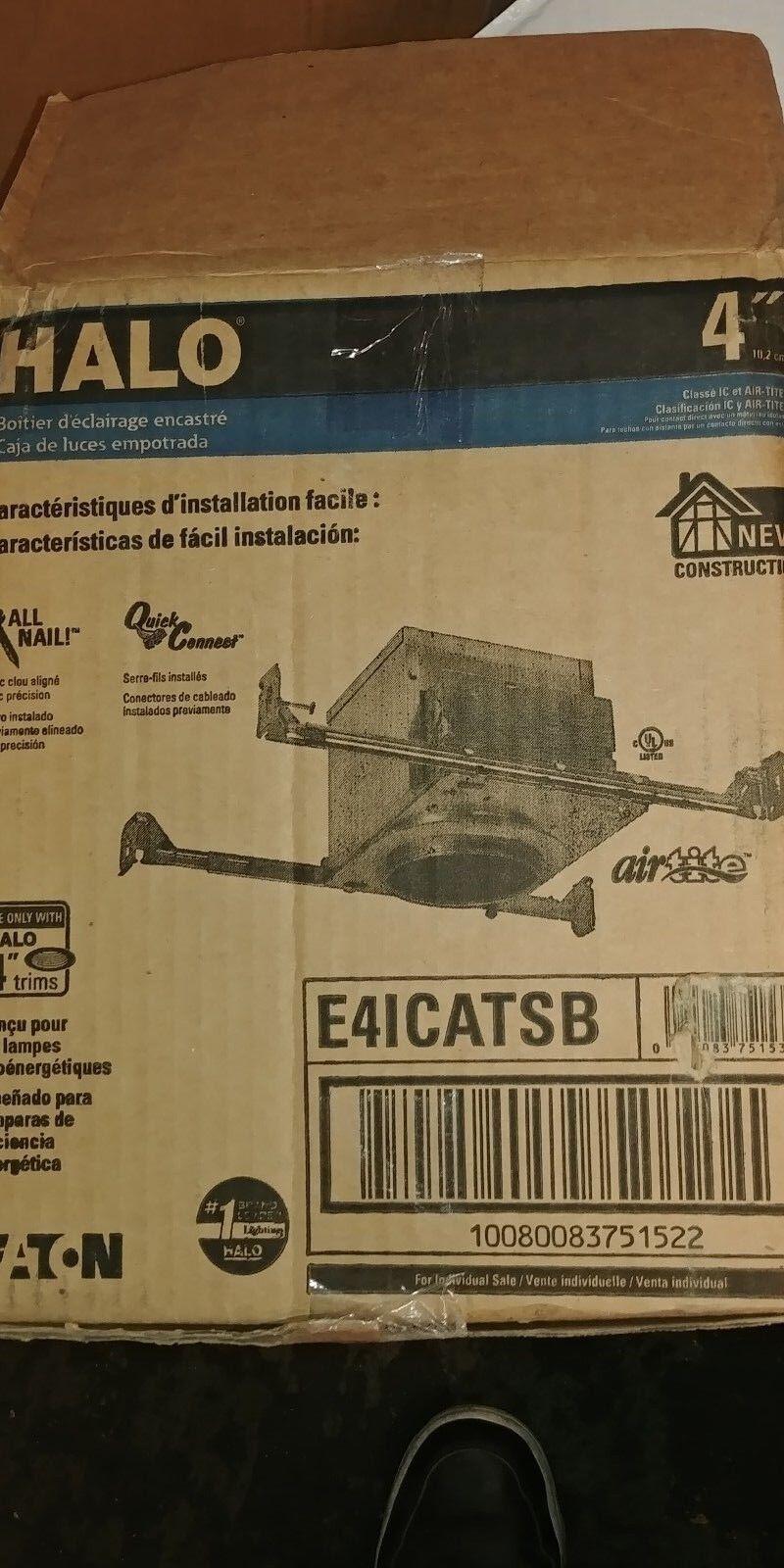 (6) Halo EA 41 catsb Air-Tite IC remodelar empotrado de la vivienda