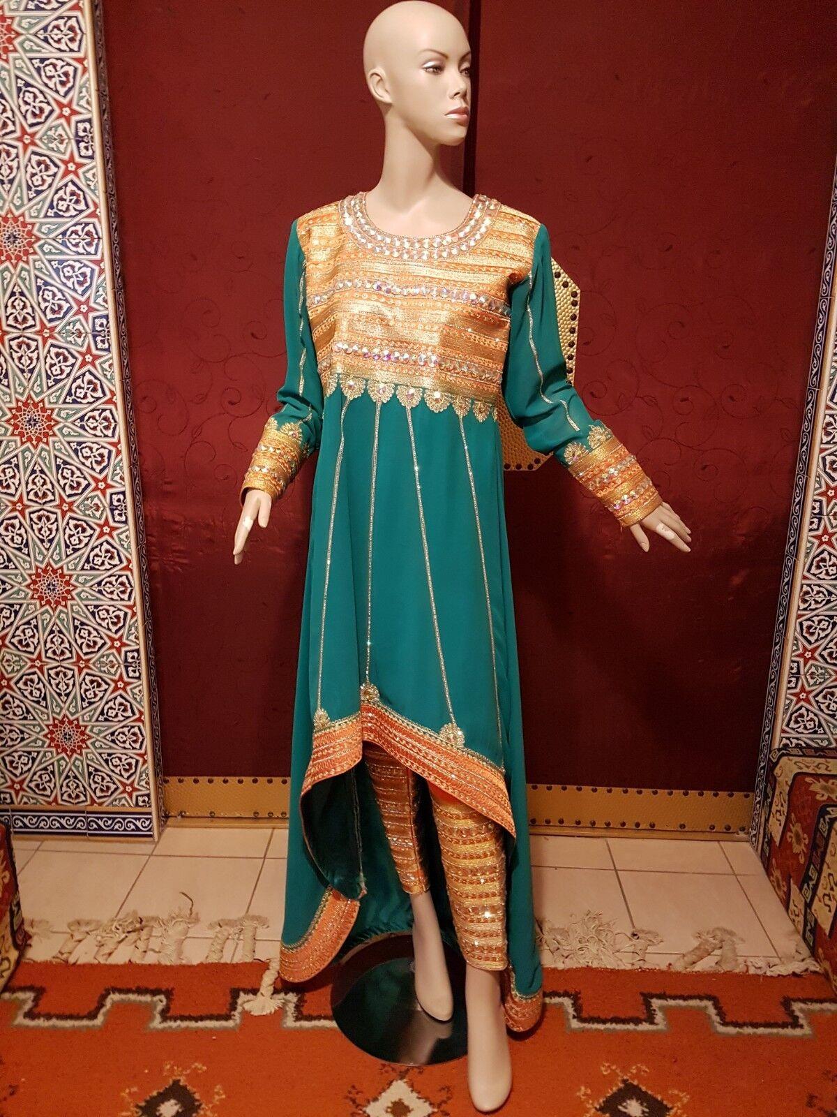 Elegantes Kleid aus Oman 3-Teilig  Original Tracht - Länge 155cm Schulter 40cm