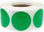 Circle-Dot-Stickers-1-Inch-Round-500-Labels-on-a-Roll-55-Color-Choices miniature 97