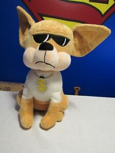 Toy Factory Chihuahua Dog Plush 17 Dog Stuffed Animal Money Sign