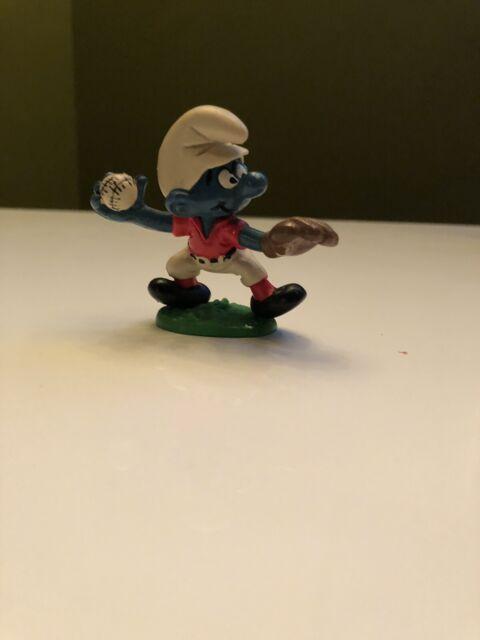 Smurfs Grim Reaper Halloween Smurf 20545 Figure Rare Schleich Vintage Toy PVC