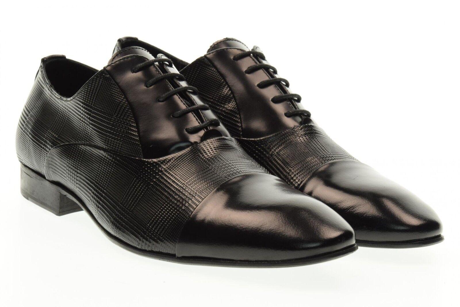 i nuovi stili più caldi Eveet scarpe uomo stringate 16500 NERO NERO NERO P17  con il prezzo economico per ottenere la migliore marca