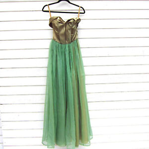 Evening Gown Long Formal Dress 1950s