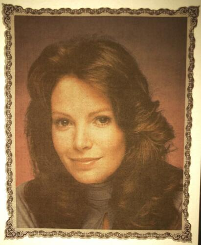 JACLYN SMITH / CHARLIE'S ANGELS 1970's VINTAGE ORIGINAL IRON-ON/