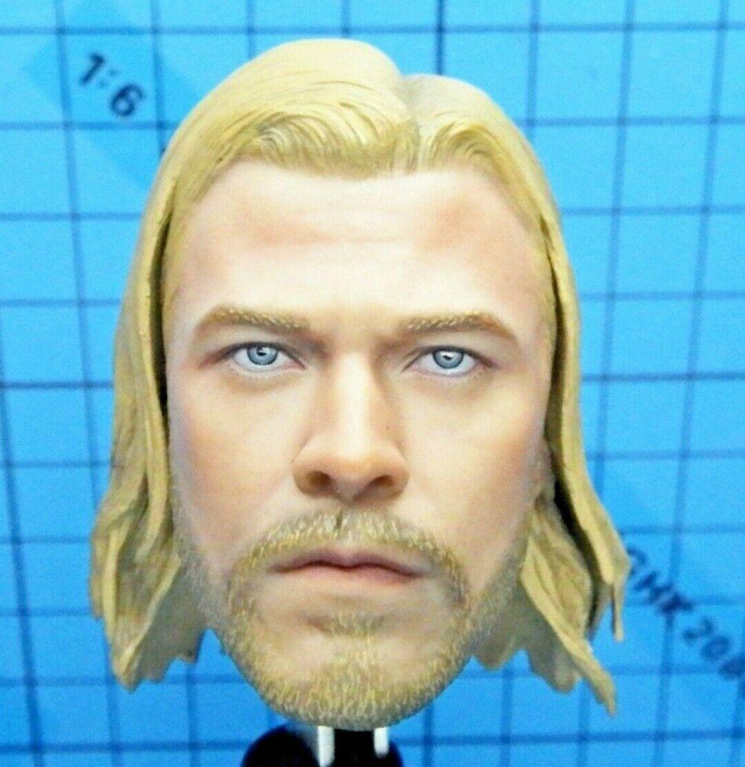 caliente giocattoli 1 6 MMS146 The Vendicatori Thor cifra - Chris Hemsworth Head Sculpt