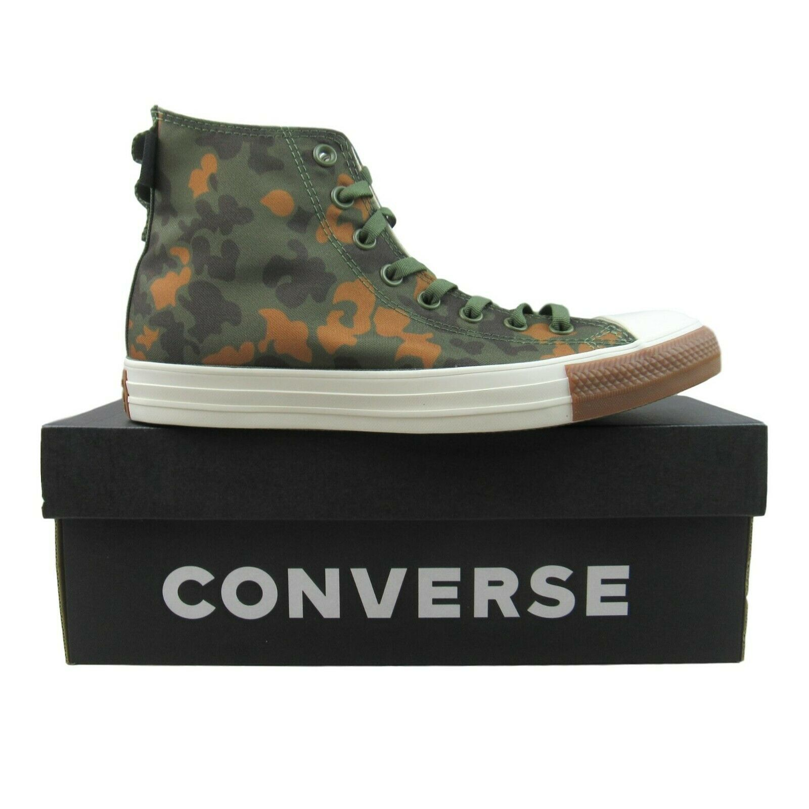 Mens Camouflage Fabric Trainers - 8.5