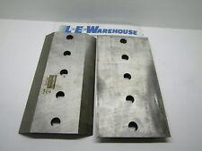 Chipper Knifes 2 Pk 10 X 5 12 X 58 5 Holes Bandit Rayco Vermeer