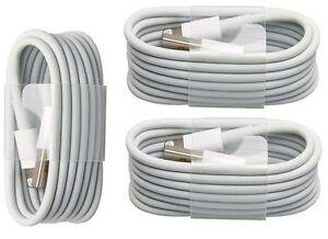 3 x USB Kabel Ladekabel Datenkabel passend zu iPhone 6 6s 7 Plus, iPad mini +AIR