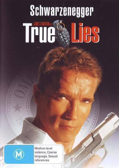 True Lies - Arnold Schwarzenegger from The Terminator DVD R4 New!