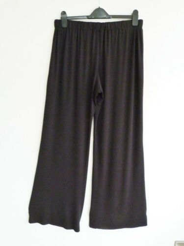 C76 Lagenlook Wide Leg Trousers All lengths Tall //Petite Made to Order
