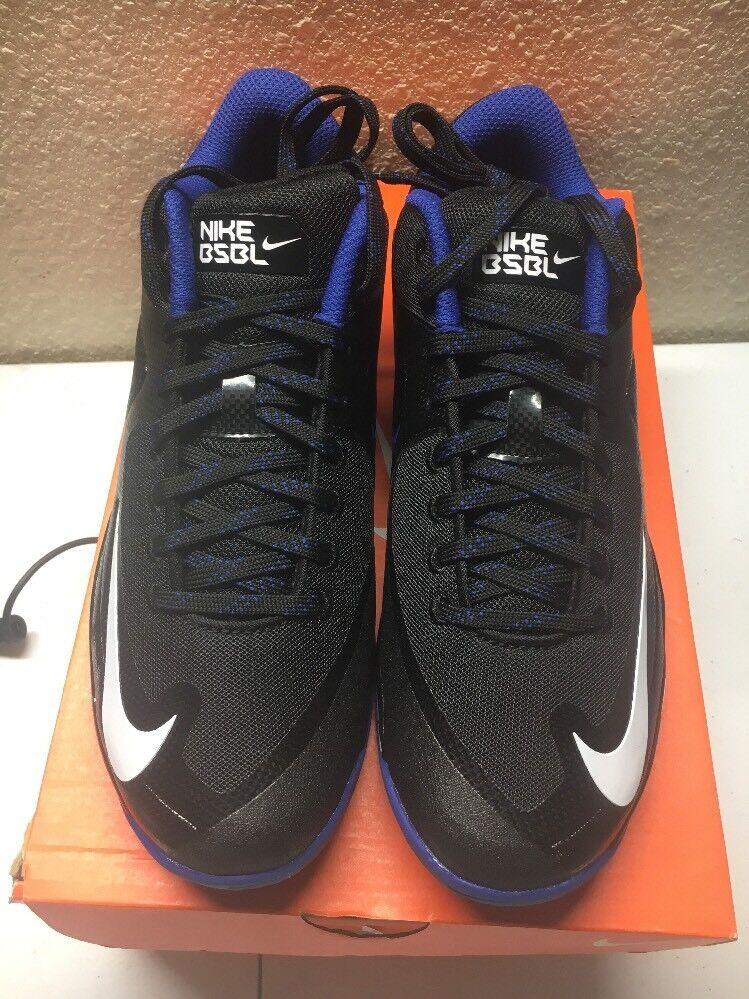 Nike Lunar MVP pregame 2 Rush Trainer Zapatos Negro Azul Rush 2 Mesh hombres es de 8,5 684690-040 el mas popular de zapatos para hombres y mujeres 16a64f