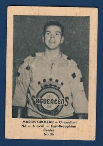 MARIUS-GROLEAU-51-52-BAS-DU-FLEUVE-1951-52-NO-36-VG-11657
