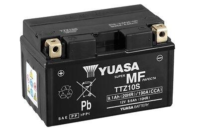 BATTERIA YUASA YTZ10S 12V 9AH =TTZ10S MV AGUSTA BRUTALE R 1090 2011 2012