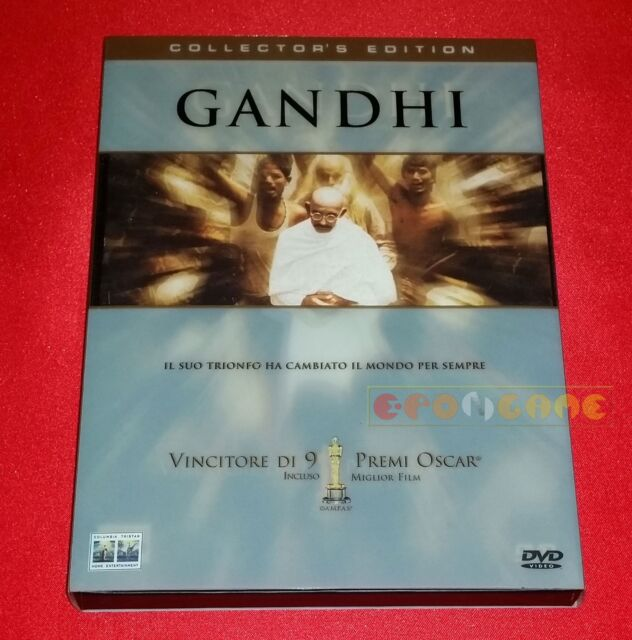 GANDHI COLLECTOR EDITION (Ben Kingsley, Richard Attenborough) Dvd USATO ET