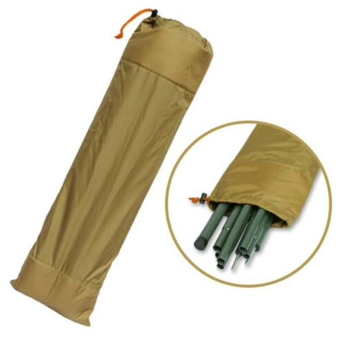 10inchx29.53inch Multipurpose pouch Tent pole bags Pole Storage Bag 26x75cm