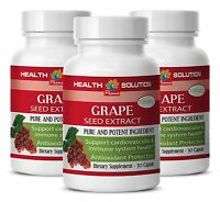 Pure Grape Seed Extract Improve Eye Vision Grape Seed Extract 100mg 3 Bottles