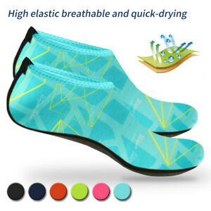 Unisex-Adult-Kids-Barefoot-Water-Skin-Shoes-Aqua-Socks-Beach-Swim-Surf-Yoga-GEM