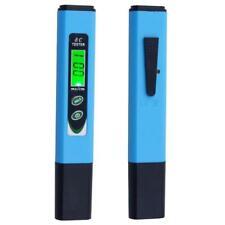 Digital Water Quality Measurement Tool Ec Meter Backlight Conductivity Tester