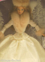 Winter Evening Barbie Doll Special Edition Brunette 1998 By Mattel 19220
