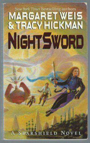 1 of 1 - Nightsword Margaret Weis & Tracy Hickman Orbit 1999 Paperback Good Condition