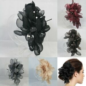 7-COLOR-OVERSIZED-FLOWER-HAIR-CLIP-ACCESSORY-FASCINATOR-WEDDING-BRIDAL-HEADPIECE