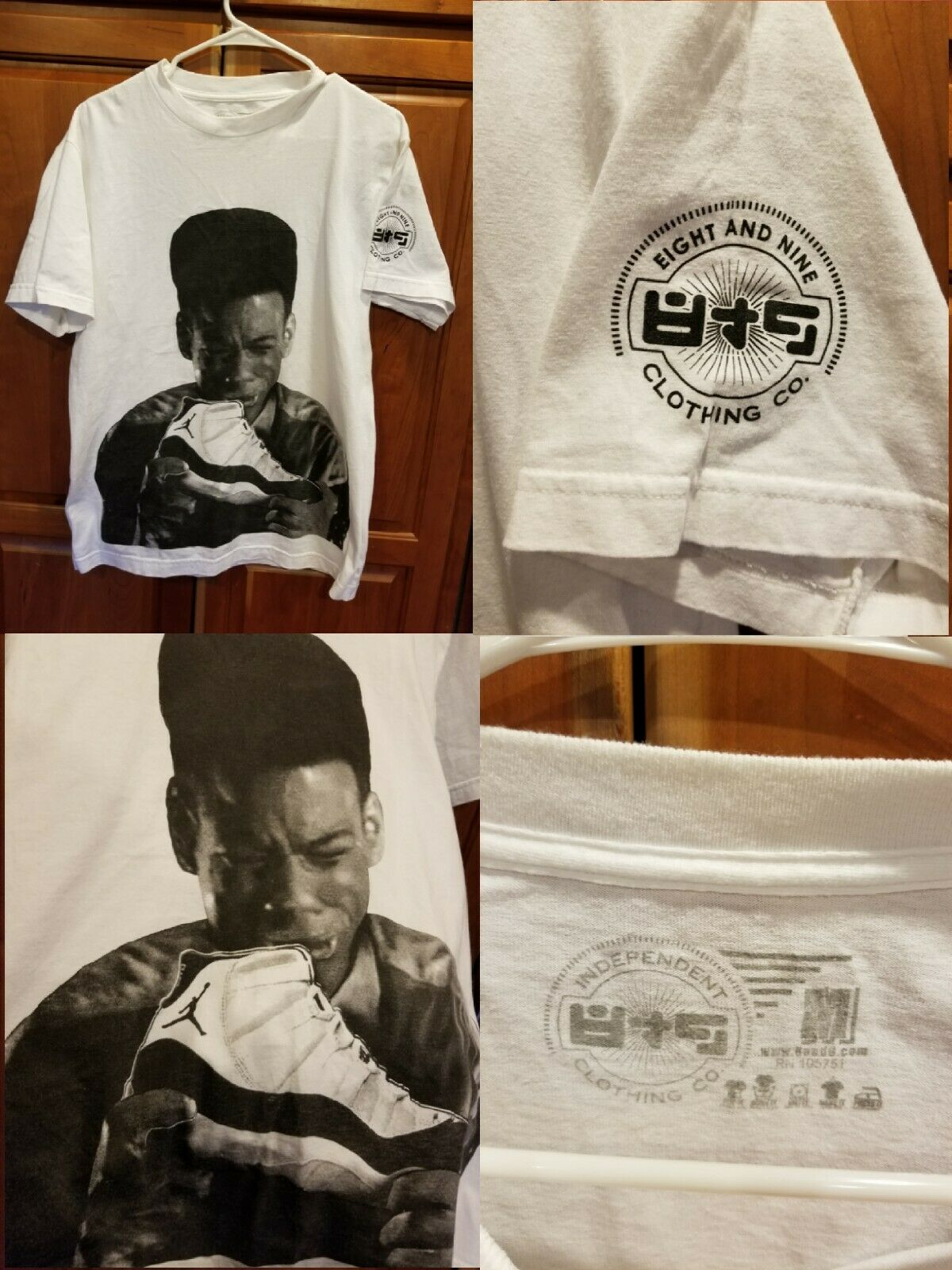 783e8db6531630 Eight And Nine 8 9 POOKIE NEW JACK CITY JORDAN CONCORD ...
