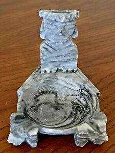 Collectible Aztec Ashtray Marble Stone Ashtray Mayan Aztec God Mexico Ashtray